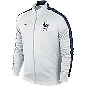 2014-15 France Nike Authentic N98 Jacket (White) - White
