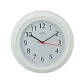 Acctim 21412 Wycombe Wall Clock White