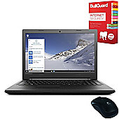 "Lenovo B50-50 80S2000QUK 15.6"" Laptop With Internet Security & Mouse"
