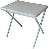 Yellowstone Lightweight Resin Camping Table White