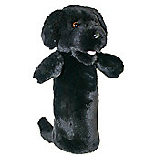 Long Sleeved Black Labrador Puppet