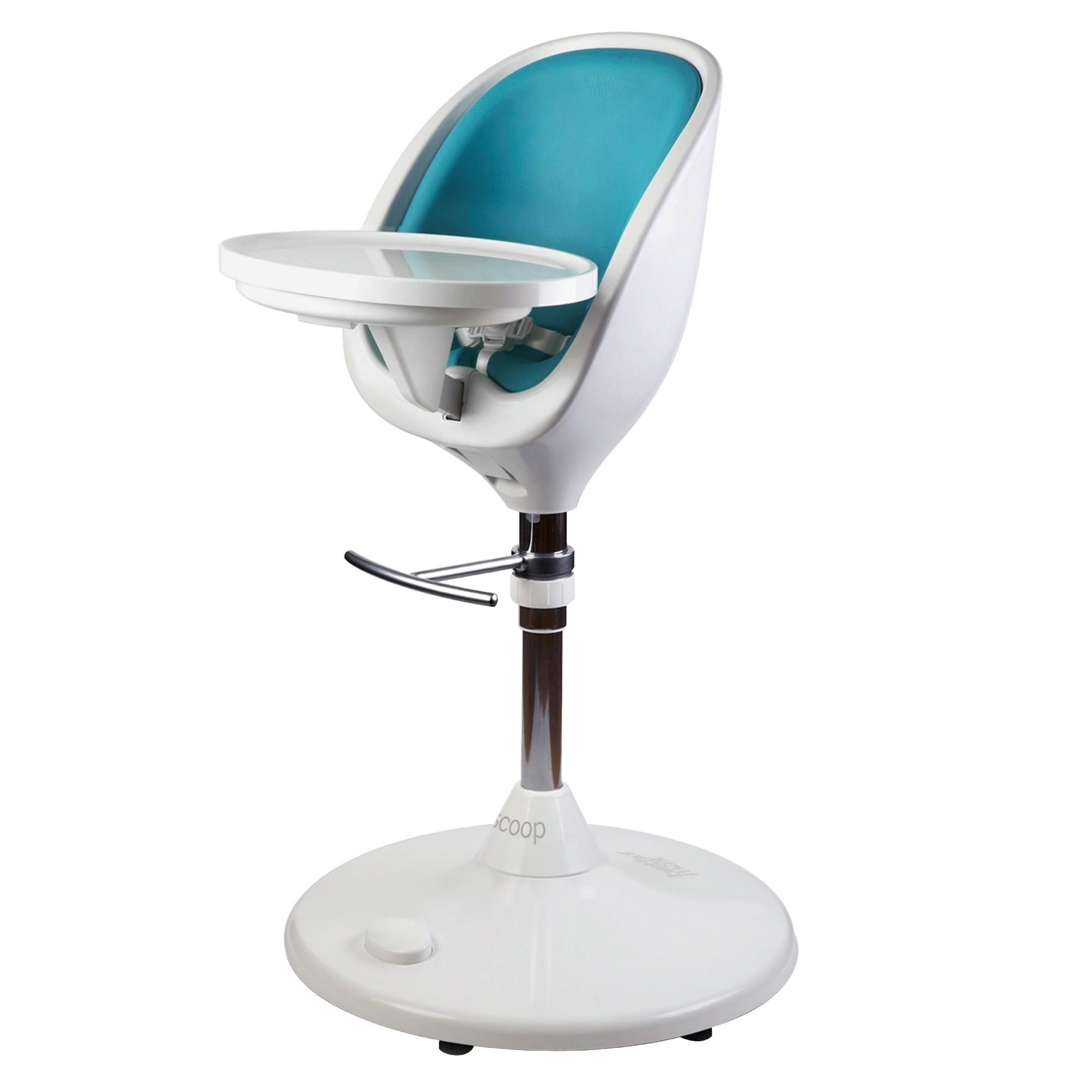 Brother Max Scoop Highchair With Aqua Insert at Tesco Direct