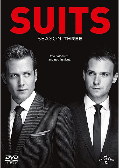 Suits Season 3 (DVD Boxset)