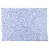 Tesco Basics Bath Sheet, - Blue