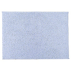 Tesco Basic Drylon Bath Mat, Powder Blue