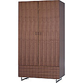 Gillmore Space Barcelona Wardrobe - Walnut