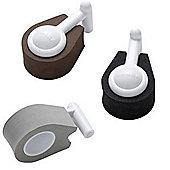 Beaba Hinge Protectors Pack of 3 black/brown/grey