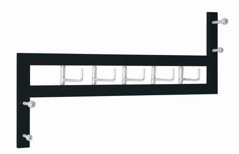 Urbane Designs Talo Coat Rack in Black