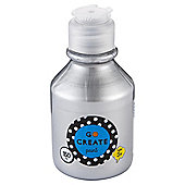 Go Create Ready Mixed Metallic Paint 150ml - Silver