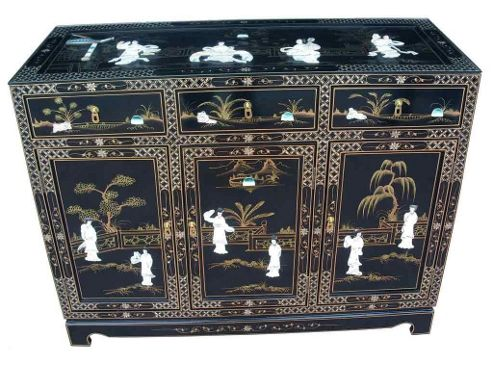 Grand International Decor Mother of Pearl Sideboard
