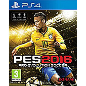 Pro Evolution Soccer 2016 Day One Edition PS4 (Free PES 2016 20th anniversary football with every Pre-order)