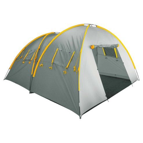 Tesco 6-Man Twin Dome Family Tent