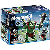 Playmobil 6004 Knights Giant Troll with Dwarf Fighters