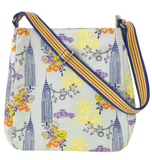 Ulster Weavers New York Messenger Bag