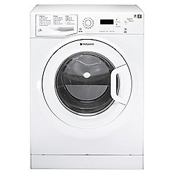 Hotpoint Aquarius Washing Machine, WMAQF621P, 6KG Load, White