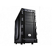 Cooler Master K280 Micro-ATX/ATX Mid Tower Chassis (Black)