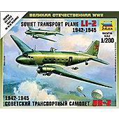 Zvezda - Soviet Transport Plane 1942-1945 - 1:200 6140