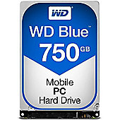 Western Digital Blue 750GB SATA III 2.5 750GB Capacity 7200RPM Spin Speed SATA III Interface 16MB Cache 2.5 Form Factor WD7500LPCX