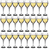 White Wine Glasses - Party Pack of 24 Glasses - 245ml (8.6oz)