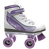 Roller Derby Roller Derby Firestar Boys/Girls Quad Roller Skates Velcro Strap - JNR11 - UK3 - White