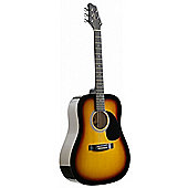 Stagg SW201 Dreadnought Guitar - Sunburst