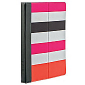M-edge GO! Jacket Case/Stand for Apple iPad 3/iPad 2 - Stripes