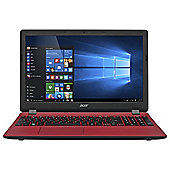 "Acer ES1-531 15.6"" Intel Celeron 4GB RAM 1TB HDD Laptop - Red"