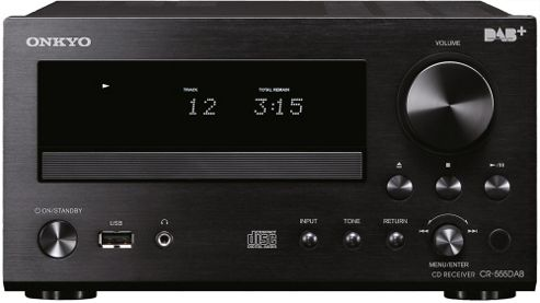 ONKYO CR555DAB CD/FM/MP3/DAB+ MINI SYSTEM (BLACK)