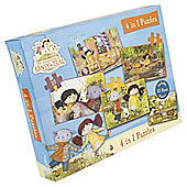 The Adventures of Abney & Teal 4-in-1 Jigsaw Puzzle