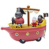 Peppa Pig Grandad Dog'S Pirate Boat