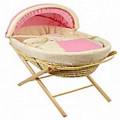 Dormouse Prickles and Whiskers Maize Moses Basket