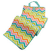 Tesco Outdoor Picnic Rug, Chevron