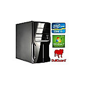 Spire PC Micro ATX Intel Core i3-4170 (3.7GHz) 4GB RAM 500GB HDD