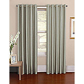 Venezia Ready Made Pencil Pleat Curtains - Fully Lined - 6 Colours Available - Silver