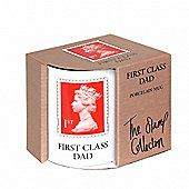 STAMP COLLECTION - First Class Dad Porcelain Mug