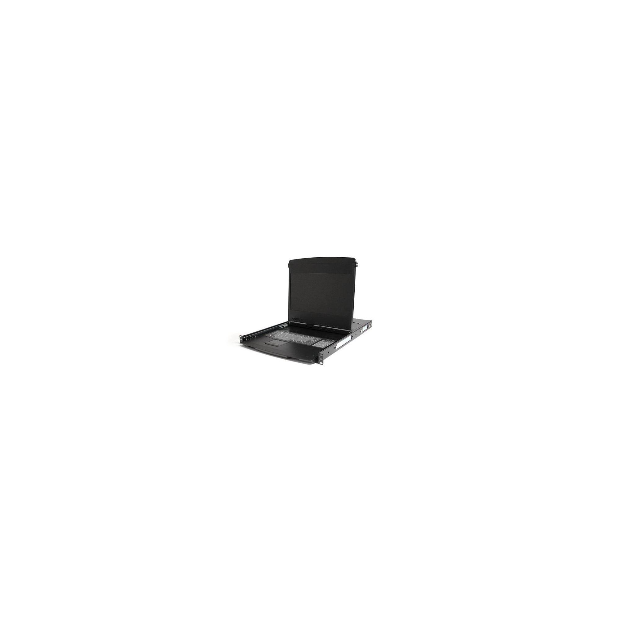 StarTech 1U 17 inch HD 1080p Dual Rail Rackmount Widescreen LCD Console at Tesco Direct