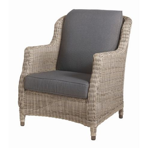 Bridgman Brighton Lounge Armchair with Waterproof Seat and Back Cushions
