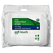 Tesco Soft Touch Single Duvet 4.5tog with AA treatment