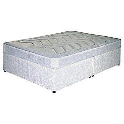 Tesco Double Divan Bed, Open Coil, Non-Storage
