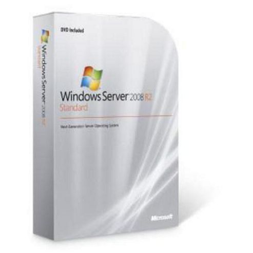 Microsoft Windows Server 2008 R2 Standard Edition ROK en fr it de es Software