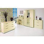 Welcome Furniture Knightsbridge 3 Drawer Deep Chest - Cream - Cream