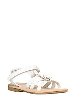 F&F Butterfly Gladiator Sandals - White