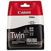 Canon PGI-525 Black Ink Cartridge (Twin Pack)