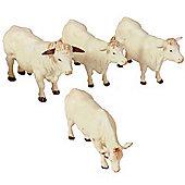 Charolais Cattle - Scale 1:32 - Britains Farm