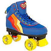 Rio Roller Quad Skates - Blueberry - UK 2 - Blue