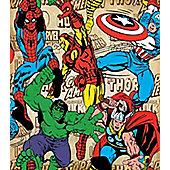Marvel Avengers Super Heroes Wallpaper
