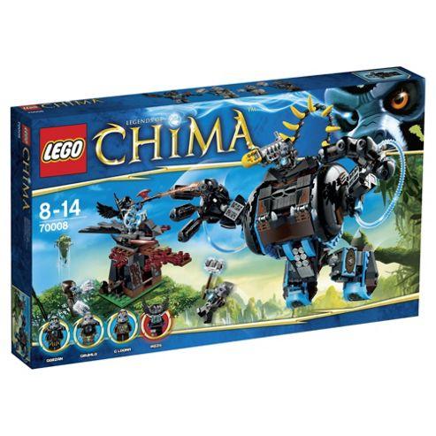 LEGO Chima Gorzans Gorilla Striker 70008