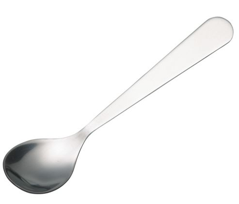 Kitchen Craft Stainless Steel Mustard Spoon, Carded