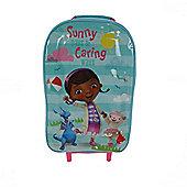 Disney Doc Mcstuffin Sunny Daysa And Caring Ways Wheeled Bag