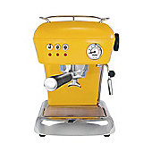 ASCASO - DREAM VERSATILE COFFEE MACHINE IN SUN YELLOW